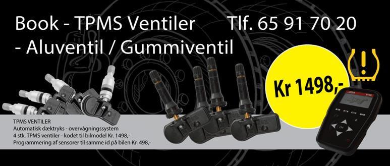 TPMS ventiler